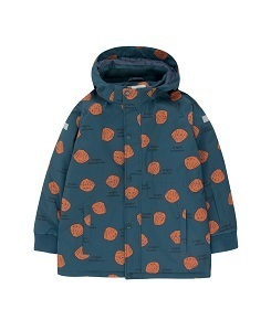 타이니코튼 SHELLS SNOW JACKET_LIGHT NAVY/BROWN