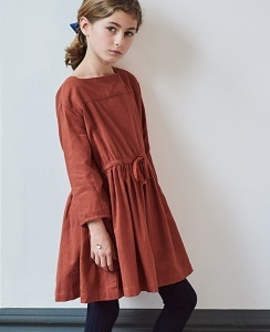 카라멜 PELIAS DRESS_PAPRIKA