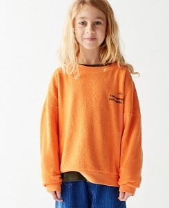 더 캄파멘토 EXPLORERS SWEATSHIRT_ORANGE