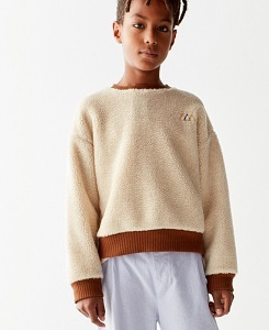 더 캄파멘토 TEDDY SWEATSHIRT_IVORY