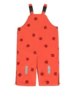 타이니코튼 APPLES SNOW DUNGAREES_RED/BURGUNDY