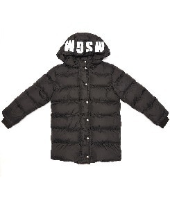 MSGM QUILTED JACKET_BLACK