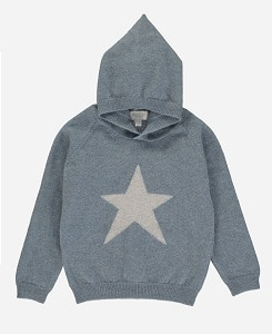 올리비에 CASHMERE JOOLS HOODED JUMPER_VINTAGE BLUE