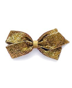 베르티존스 Medium Hair clip Glitter_Gold