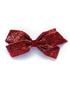 베르티존스 Medium Hair clip Glitter_Scarlet