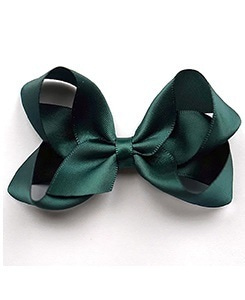 베르티존스 Medium Hair clip Satin_Spruce