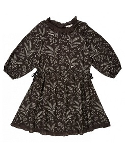 카라멜 ARTEMIS DRESS_WHEAT PRINT MOUSE GREY A19WG