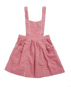 카라멜 DONNINGTON PINAFORE_RED P.CHECK