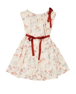 카라멜 NOTTING HILL DRESS_FLOATING BOUQUET