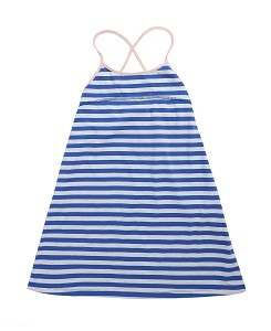 카라멜 TOOTING DRESS_BLUE STRIPE