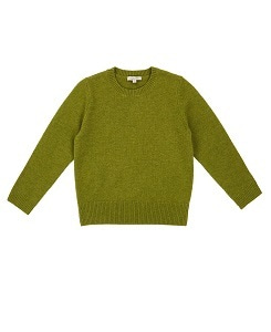 카라멜 Earls Court Cashmere Jumper_Grass
