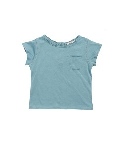 카라멜 Hoxton Baby T Shirt_Soft Blue