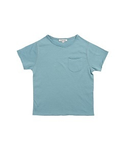 카라멜 HOXTON T-SHIRT_SOFT BLUE