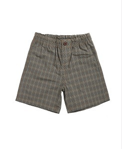 카라멜 BARBICAN BERMUDAS_CHECK GREY
