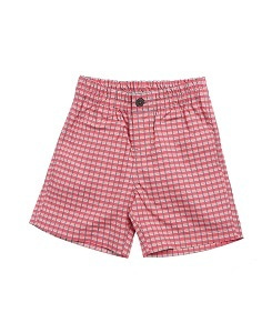 카라멜 Barbican Bermudas, Red Painted Check