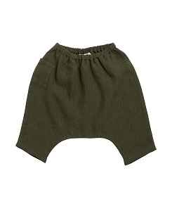 카라멜 ALDGATE BABY TROUSERS_ARMY GREEN