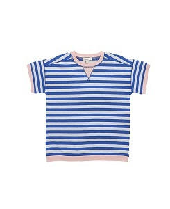 카라멜 BALHAM T-SHIRT_BLUE STRIPE