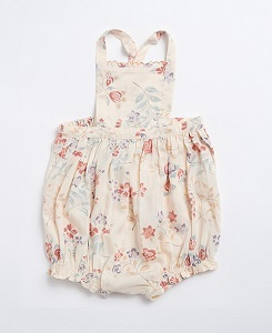 카라멜 MOORGATE BABY ROMPER_FLOATING BOUQUET