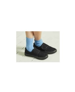 카라멜 CHILD RIB ANKLE SOCKS_SKY BLUE