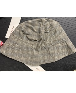 카라멜 WEMBLEY HAT_CHECK GREY