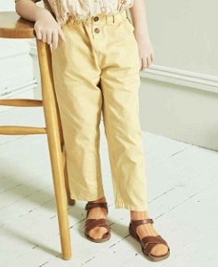 카라멜 CARNABY TROUSERS_BANANA YELLOW