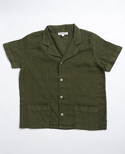 카라멜 HOLBORN SHIRT_ARMY GREEN
