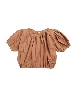 카라멜 QUEENS PARK BLOUSE_TOAST