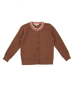 카라멜 Camden Cardigan_Brown Melange
