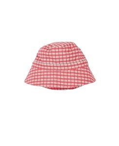 카라멜 WEMBLEY HAT_RED PAINTED CHECK