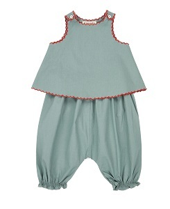 카라멜 Green Park Baby Set_Stone Grey