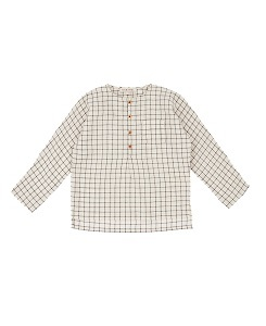 카라멜 PIMLICO SHIRT_BLACK CREAM