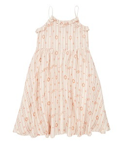 카라멜 GREENWICH DRESS_ROSE TAN