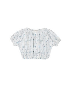 카라멜 QUEENS PARK BLOUSE_VAPOUR BLUE