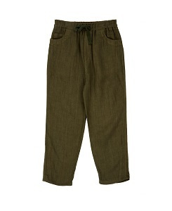 카라멜 ALDGATE TROUSERS_ARMY GREEN