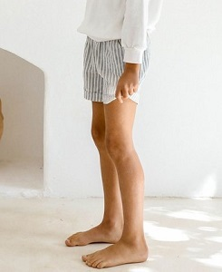 욜리앤오티스 ARNOR SHORTS_FRENCH STRIPE