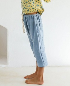 욜리앤오티스 VALAN TROUSERS_SWEDISH BLUE