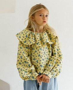 욜리앤오티스 EMMA BLOUSE_FRENCH FLORAL