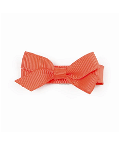 베르티존스 Small Plain Hair Clip_Neon Orange
