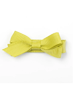 베르티존스 Small Plain Hair Clip_ Lemon