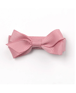 베르티존스 Small Plain Hair Clip_Dusty Rose