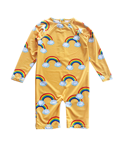 로미러브스루루 RASH GUARD_RAINBOW YELLOW