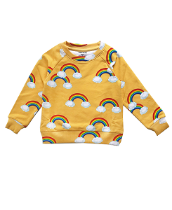 로미러브스루루 SWEATER_RAINBOW YELLOW