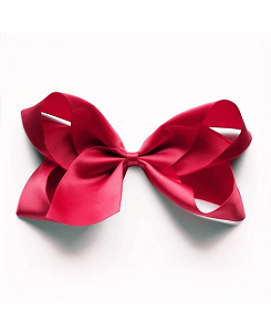 베르티존스 Large Hair Clip Satin_Ruby