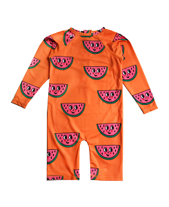 휴고러브스티키 RASH GUARD_WATERMELON ORANGE