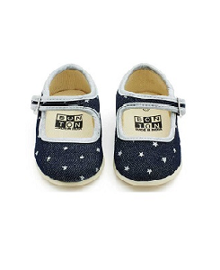 봉통 denim slippers/denim brut