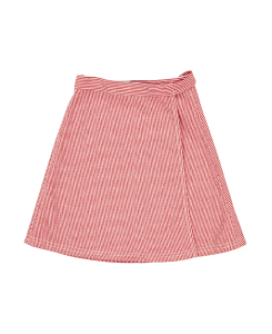 카라멜 Bloomsbury Skirt_Red & White Stripe