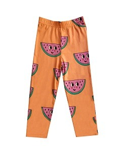 휴고러브스티키 LEGGINGS_WATERMELON ORANGE
