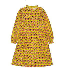 헬로시모네 Azzia dress Envol Yellow