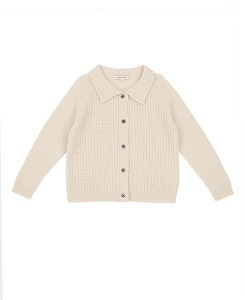 카라멜 WOODPEKER CARDIGAN_CREAM