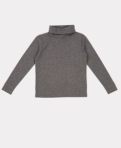 카라멜 PHEASANT TURTLENECK-GREY MELANGE